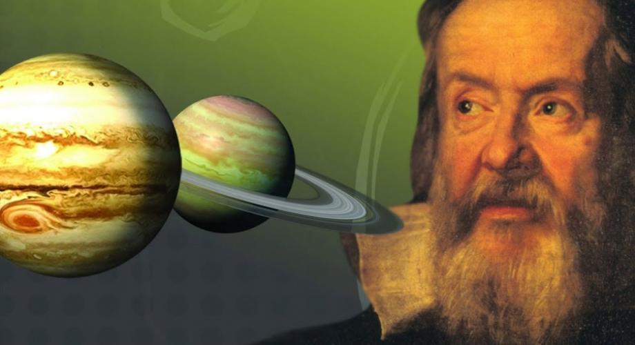 """Galileu Galilei: """"A matemática é o alfabeto no qual Deus escreveu o universo"""""""